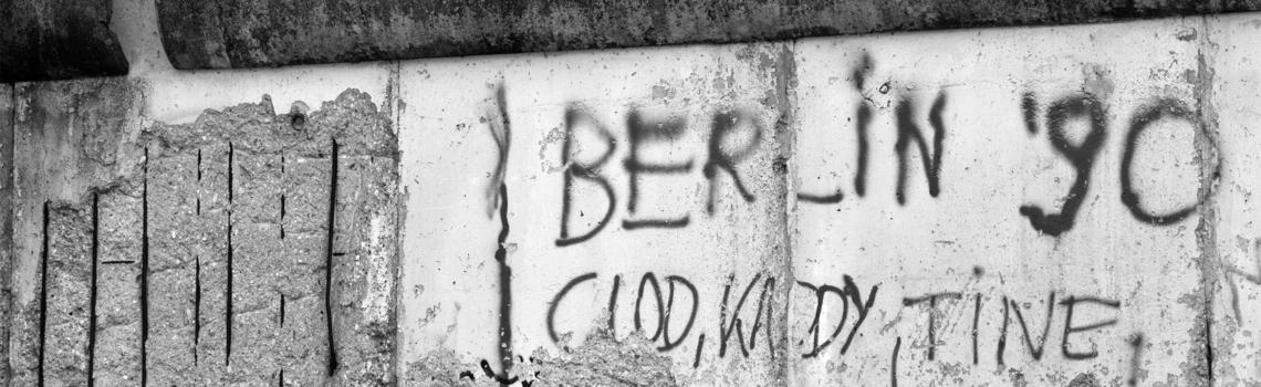 Mauer im damals geteilten Berlin