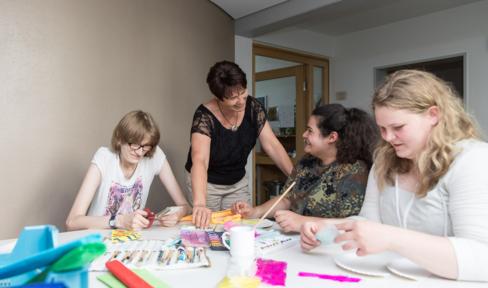 Kreativangebote in der Einrichtung in Helenenberg