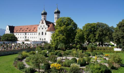 Meditationsgarten am Kloster Benediktbeuern