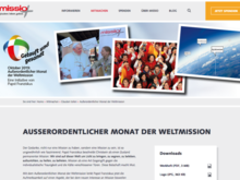 Website Missio Aachen